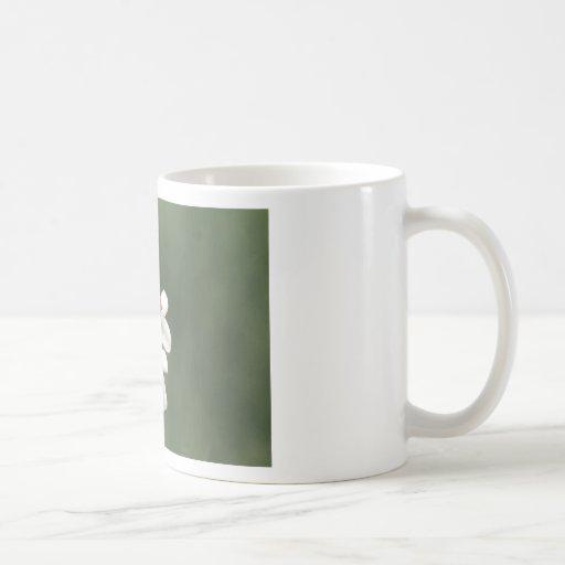 Glücksbringer auf der Blumenwiese Kaffee Haferl