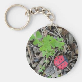 Glückskäfer Schlüsselanhänger