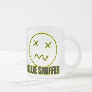 Glue3 Frosted Glass Coffee Mug
