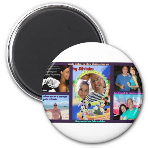 glue Beto, Sil and Rebecca 2 Inch Round Magnet