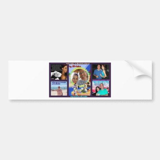 glue Beto, Sil and Rebecca Bumper Sticker