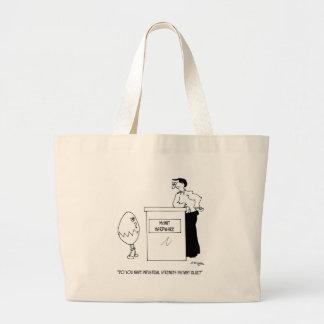 Glue Cartoon 6130 Large Tote Bag