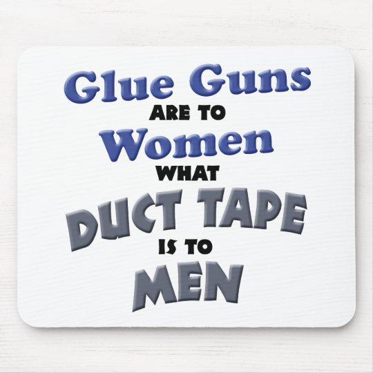 Glue Guns Mouse Pad