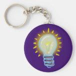 glühbirne light bulb llavero