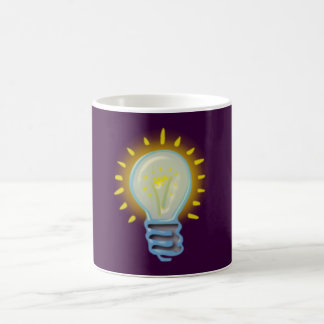 glühbirne light bulb taza de café