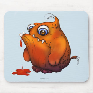 GLUP CUTE ALIEN MONSTER CARTOON MOUSE PAD