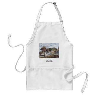 Glut Of Marly By Sisley Alfred Adult Apron