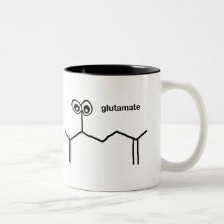 Glutamate Neurotransmitter Two-Tone Coffee Mug