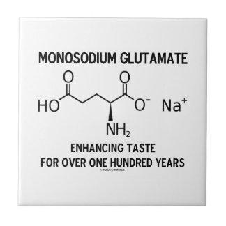 Glutamato monosódico que aumenta el gusto para más azulejo