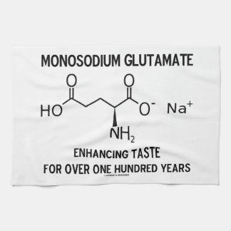 Glutamato monosódico que aumenta el gusto para más toallas de cocina