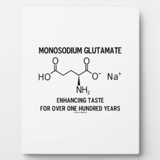 Glutamato monosódico que aumenta el gusto para más placas de madera