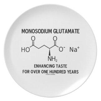 Glutamato monosódico que aumenta el gusto para más plato para fiesta