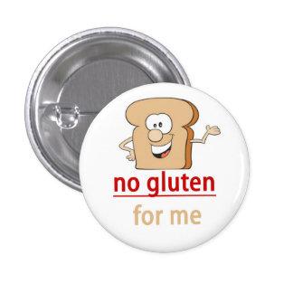 Gluten Allergy Alert Pinback Button