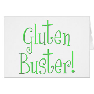 Gluten Buster Greeting Card