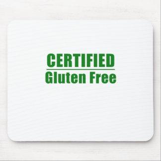 Gluten certificado libremente alfombrilla de ratones