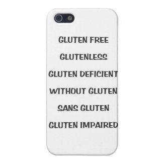 Gluten Challenged iPhone Case