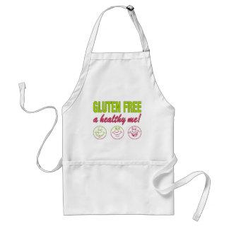 Gluten Free A Healthy Me! Gluten Allergy Celiac Adult Apron
