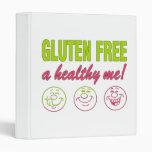 Gluten Free A Healthy Me! Gluten Allergy Celiac Vinyl Binders