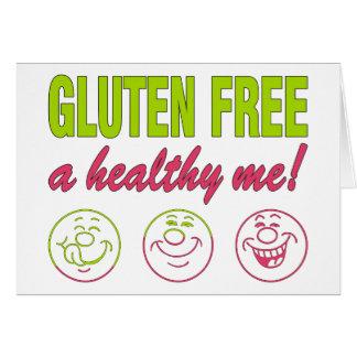 Gluten Free A Healthy Me! Gluten Allergy Celiac Card