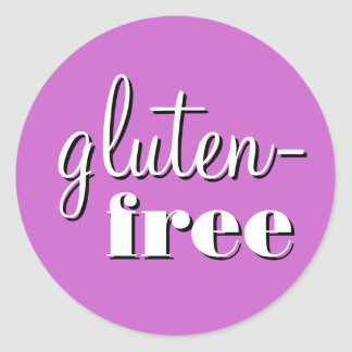 Gluten Free Allergy Safe Culinary Label