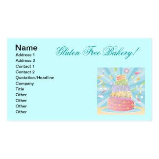 Gluten Free Baked Goods Business Card