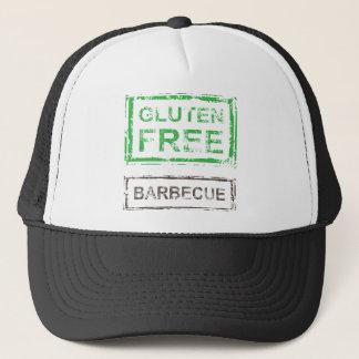 Gluten Free Barbecue Stamp Trucker Hat
