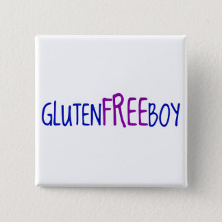 Gluten Free Boy Pinback Button