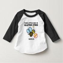 Gluten Free Bumble Bee Celiac Alert Shirt