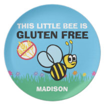 Gluten Free Bumble Bee Plate