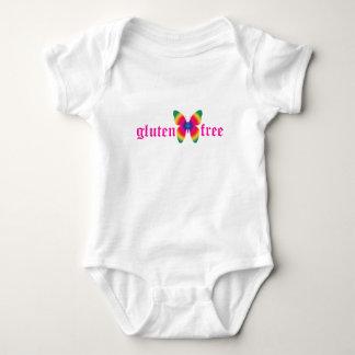 gluten-free butterfly (multi) baby bodysuit