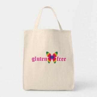 gluten-free butterfly (multi) Organic Grocery Tote