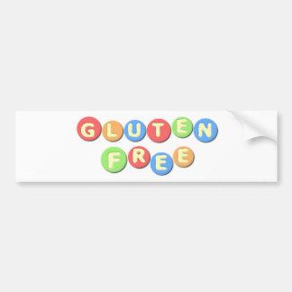 Gluten Free Celiac Bumper Sticker