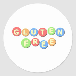 Gluten Free Celiac Classic Round Sticker