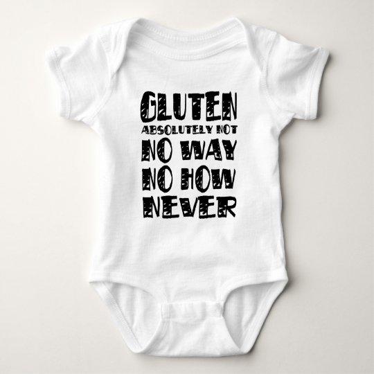Gluten Free Celiac Designs No Way Baby Bodysuit