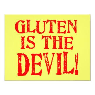 Gluten Free Celiac Designs No Way Custom Invitations