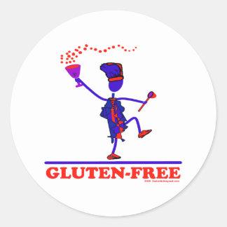 GLUTEN-FREE CLASSIC ROUND STICKER