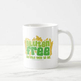 Gluten Free Classic White Coffee Mug