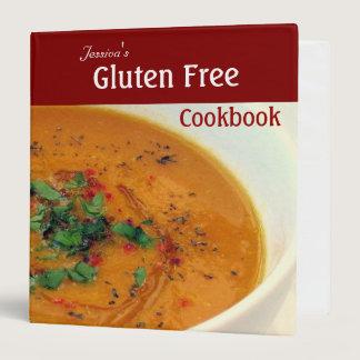 Gluten Free Cookbook 3 Ring Binder