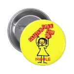 Gluten Free Daughter 2 Inch Round Button