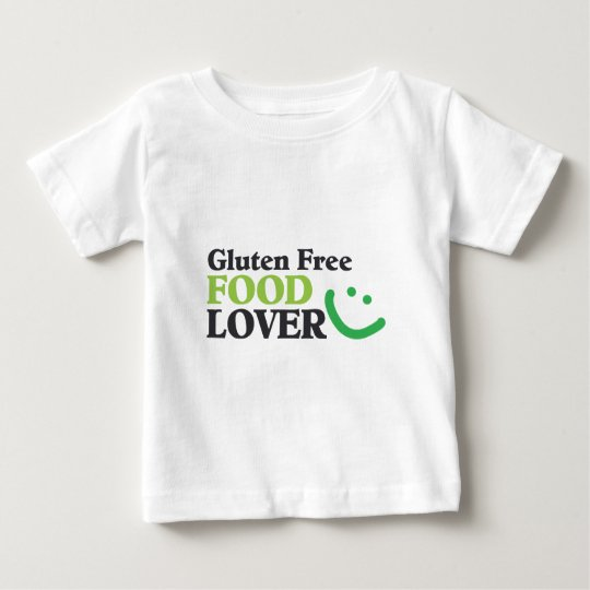 Gluten Free Food Lover items Baby T-Shirt