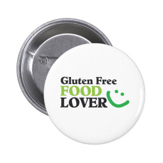 Gluten Free Food Lover items Pinback Button