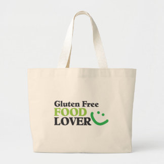 Gluten Free Food Lover items Jumbo Tote Bag