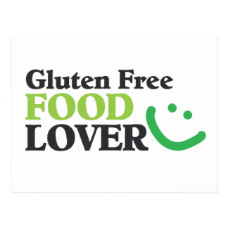 Gluten Free Food Lover items Postcard