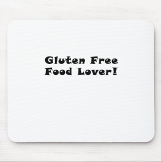 Gluten Free Food Lover Mouse Pad