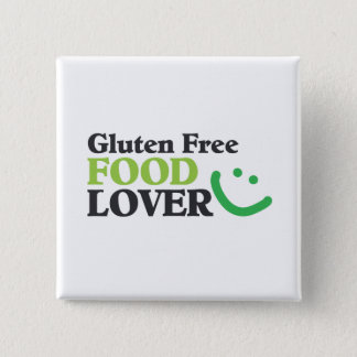 Gluten Free Food Lover Square Button