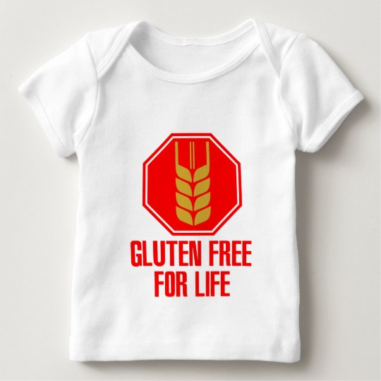 Gluten Free For Life Baby T-Shirt