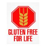 Gluten Free For Life Custom Letterhead