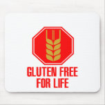Gluten Free For Life Mouse Pad