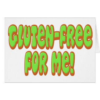 Gluten Free For Me Card