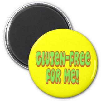 Gluten Free For Me Magnet